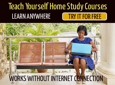 Learn at Home Using Our Home Study Course