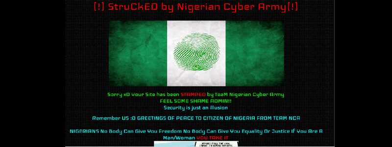INEC Hacked March 2015