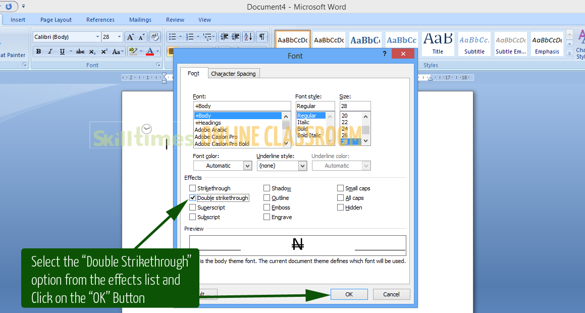 How To Insert The Naira Symbol In A Microsoft Word Document